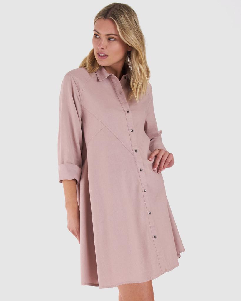 Sass Baylee Dress Blush Pink