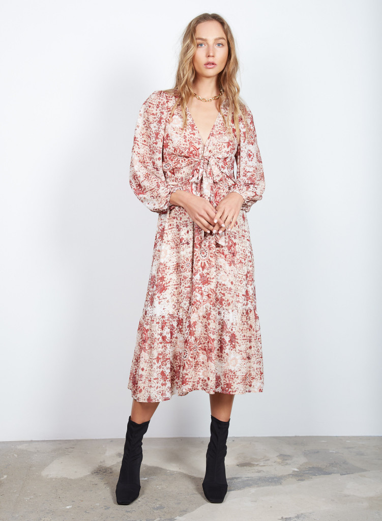 Wish Wanderer Midi Dress