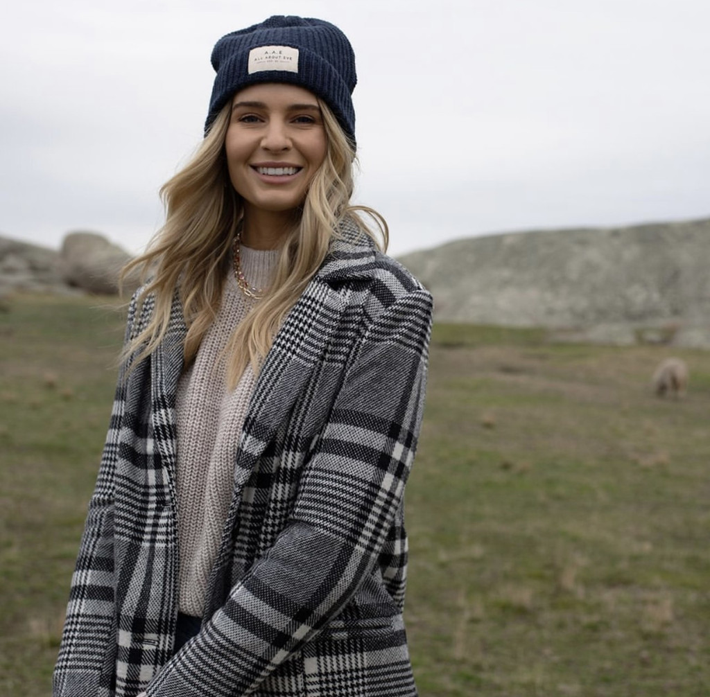 All About Eve Heritage Beanie Navy