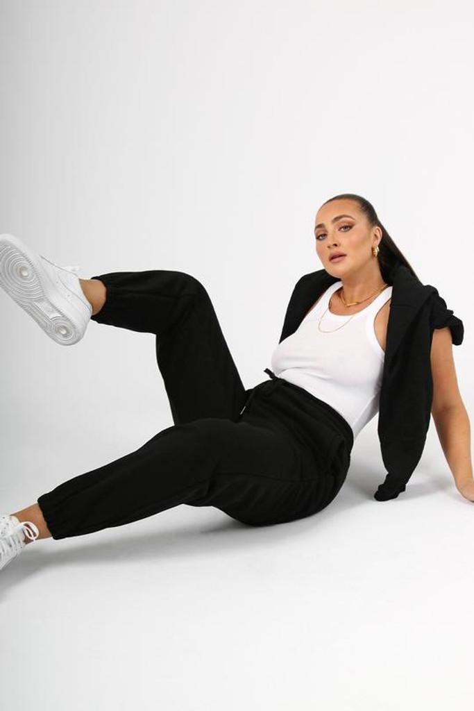 Madison The Label Morrison Tracksuit Pants Black