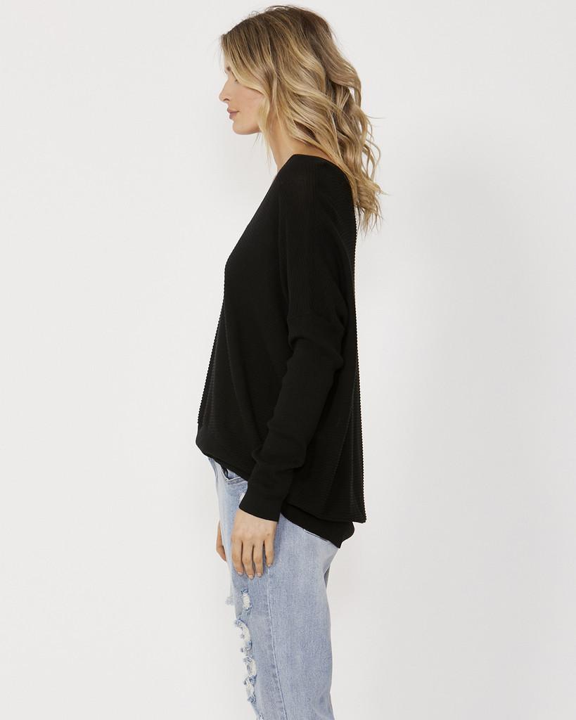 Sass Mila Knit Black