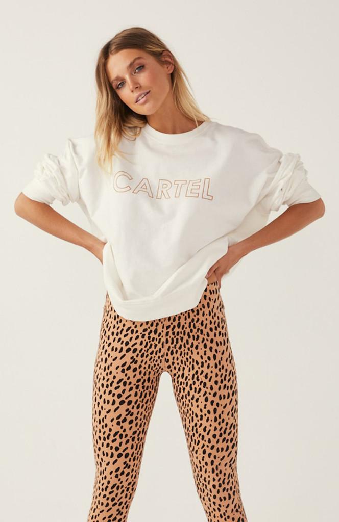Cartel & Willow Roxy Leggings Toffee Leopard