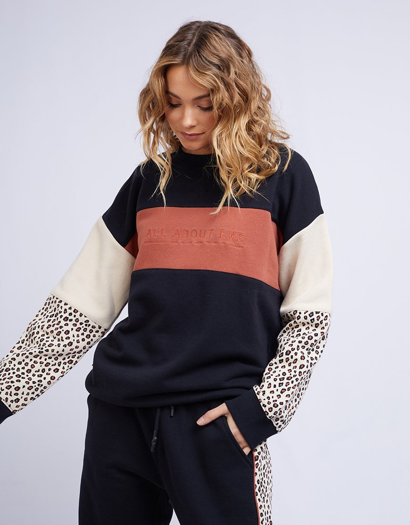 All About Eve Bold Panelled Crew