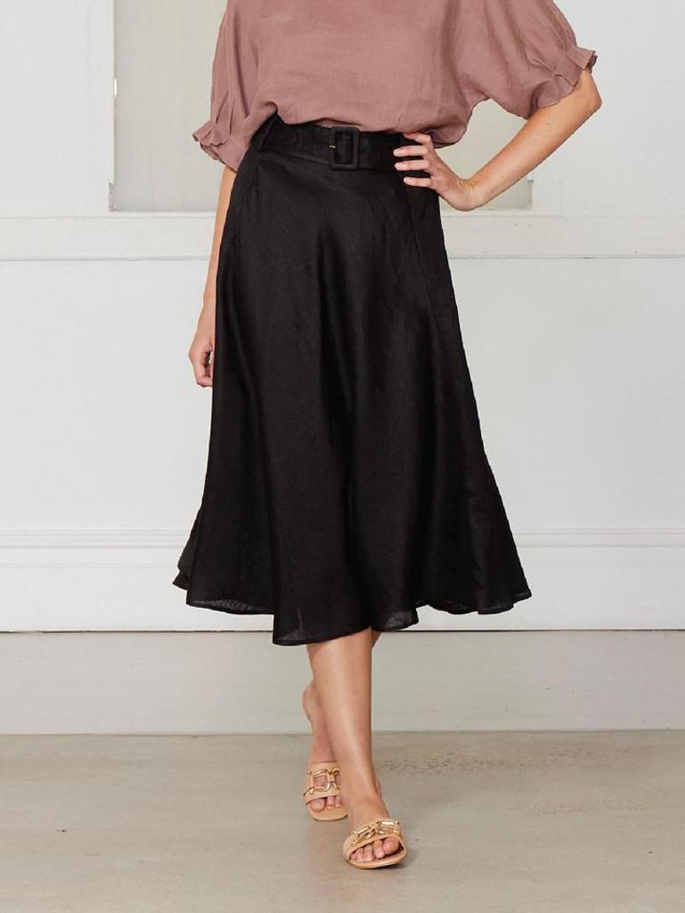 Fate & Becker Love Is Skirt Black