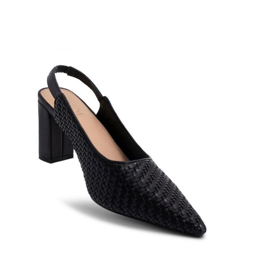 Nude Footwear Dana Mule Black