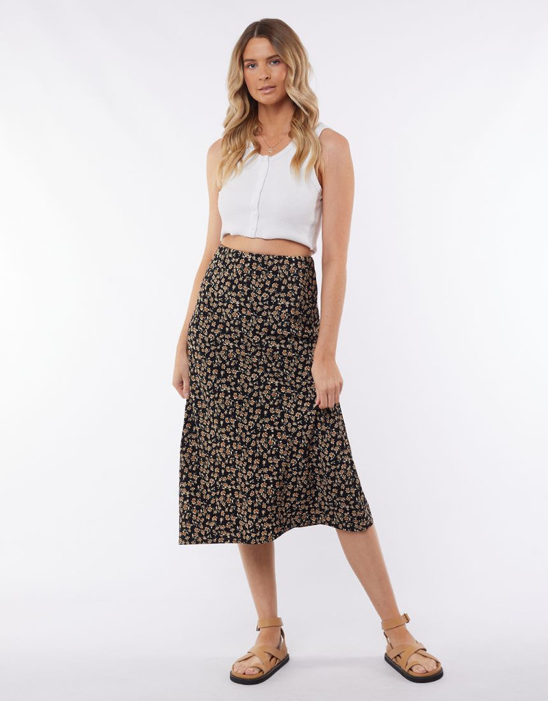 All About Eve Kali Midi Skirt