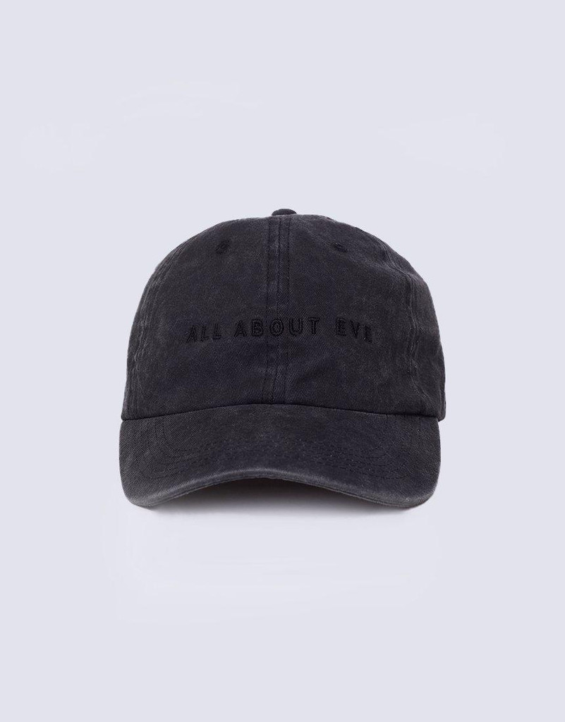 All About Eve Washed Cap Black
