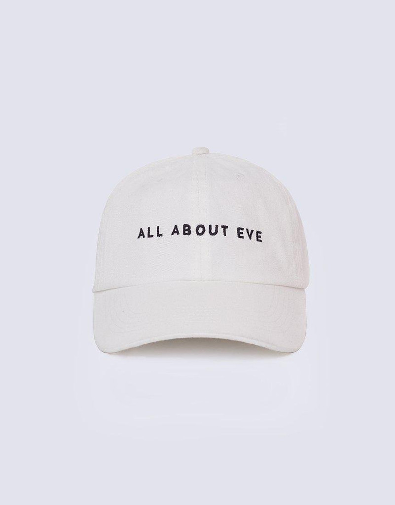 All About Eve Washed Cap White