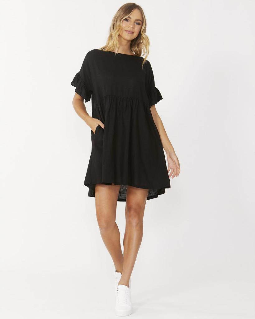 Sass Daphne Dress Black