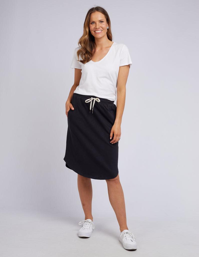Elm Fundamental Isla Skirt Black