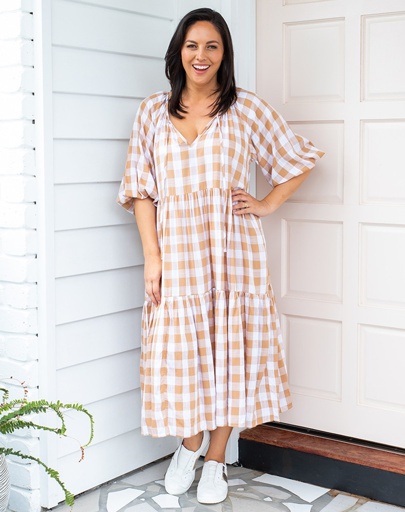 Bee Maddison Amber Dress Gingham