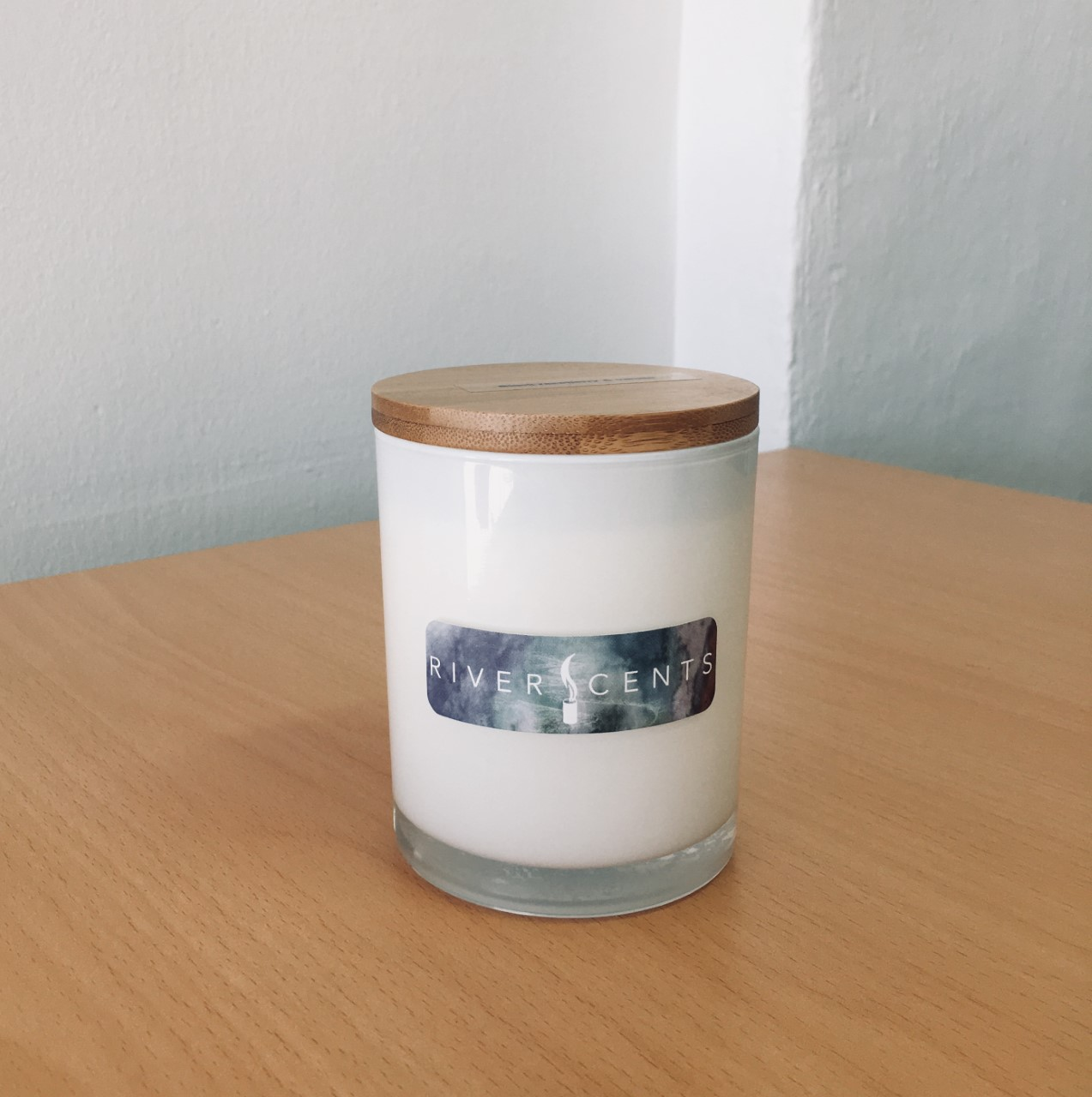 River Scents Candle White