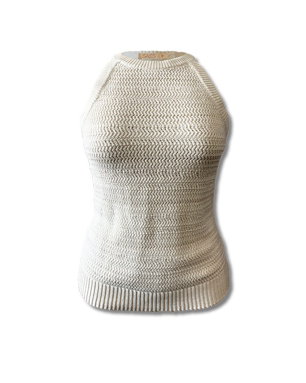 Sass Brigitte Knit White