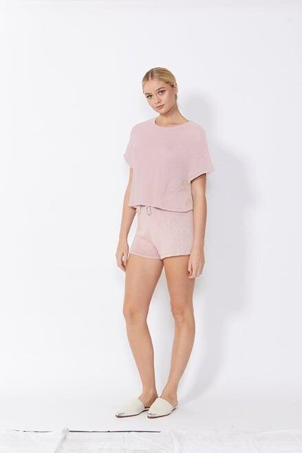 Sass Lottie Top Blush Pink