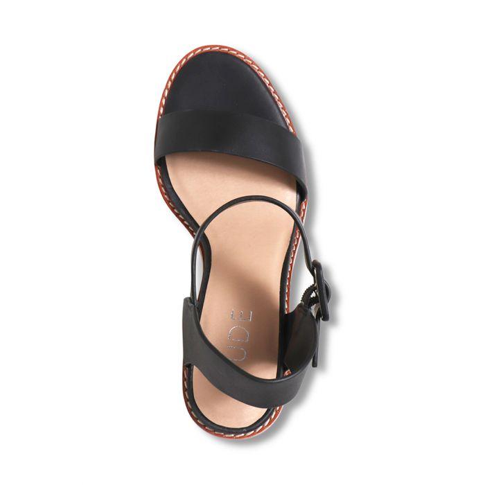 Nude Footwear Gracie Heels Black