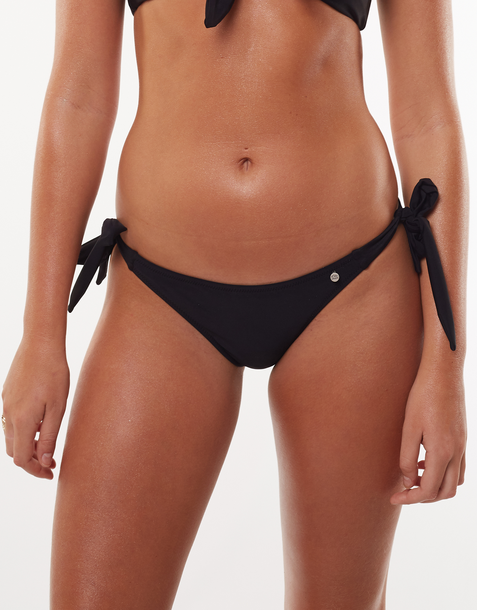 All About Eve Evie Knot Side Bikini Pant Black