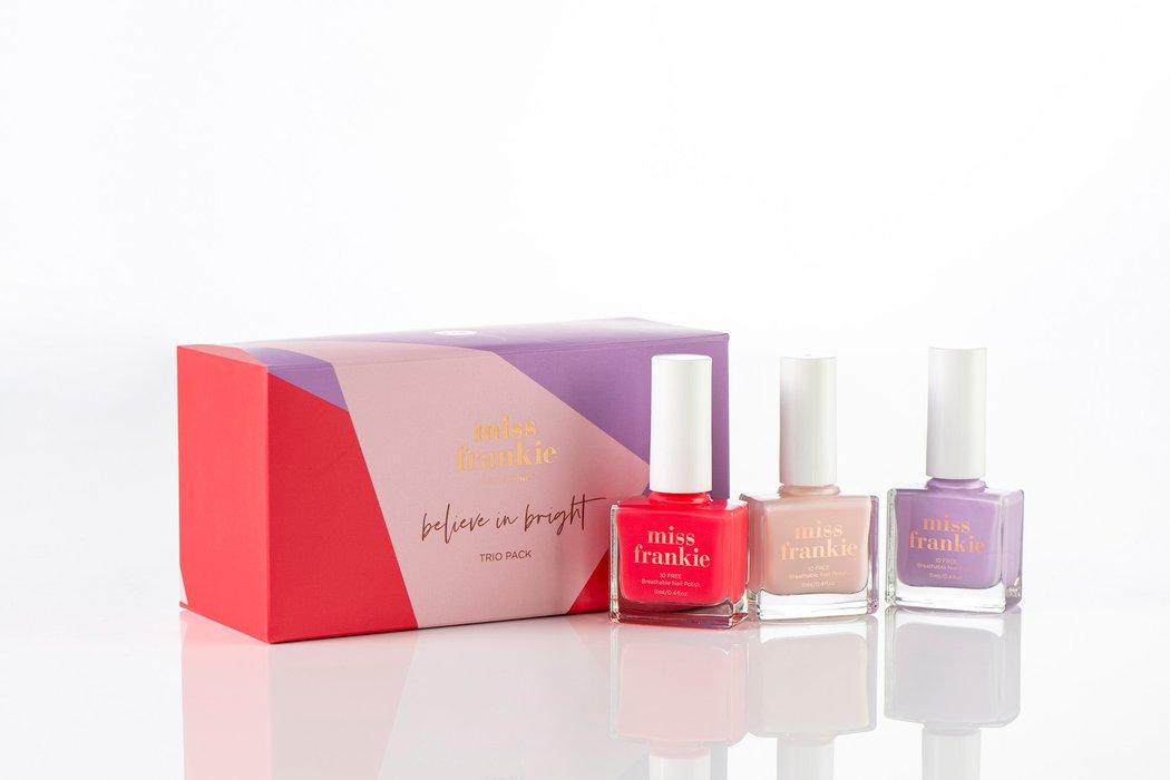 Miss Frankie Gift Pack - Believe In Bright Trio