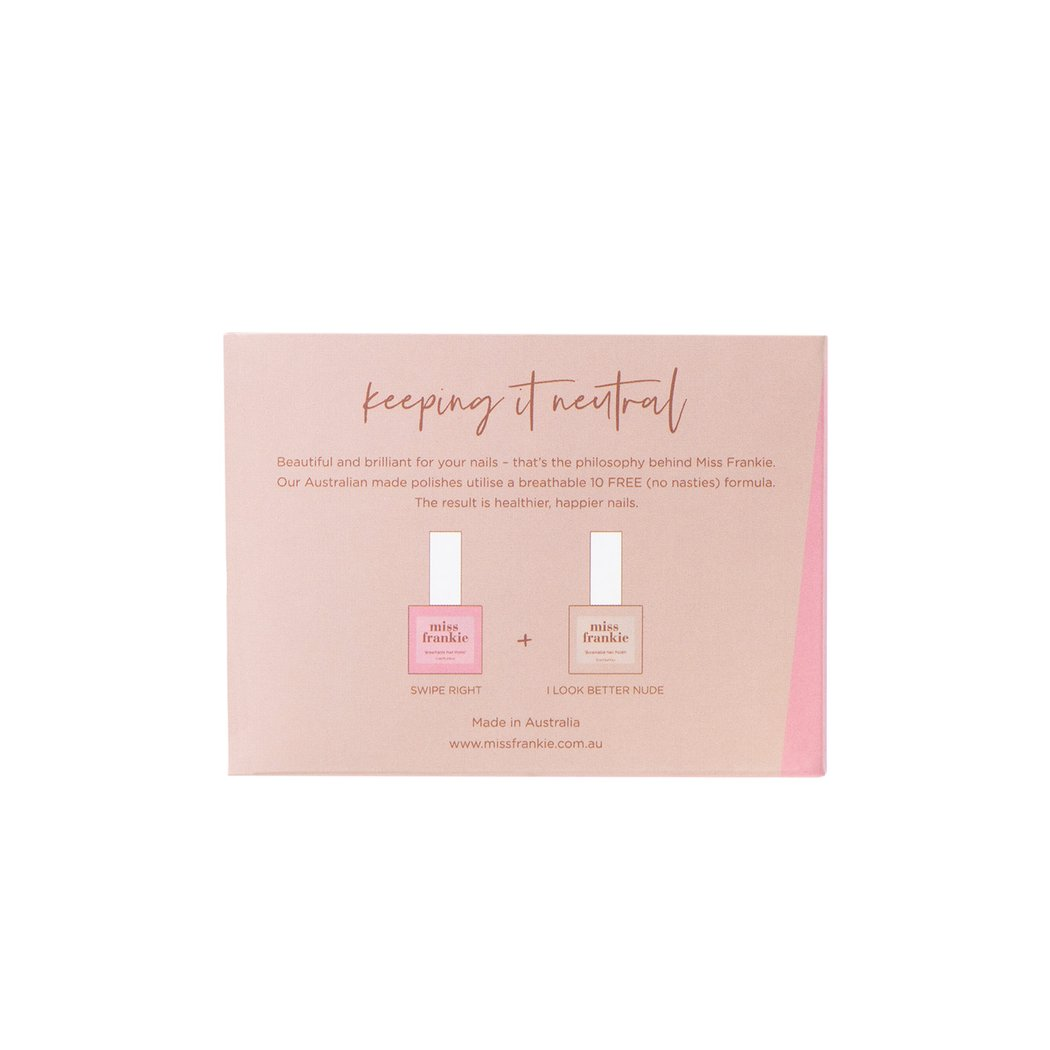 Miss Frankie Gift Pack - Keeping It Neutral Duo