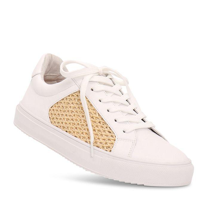 Nude Footwear Mae Sneaker White Leather