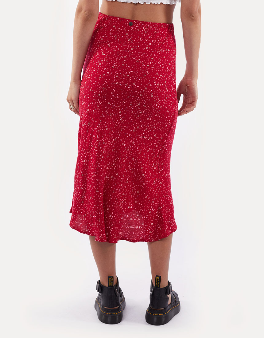 All About Eve Flourishing Midi Skirt