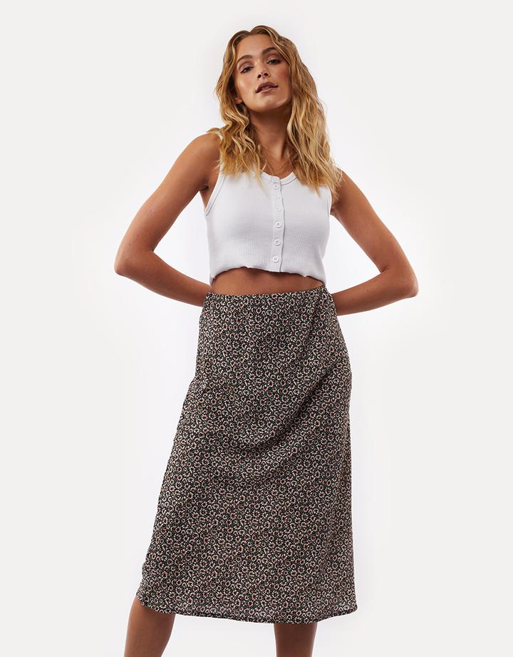 All About Eve Bronte Midi Skirt