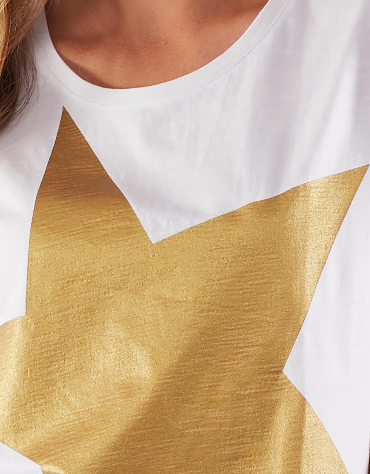 Elm Superstar Tee Gold,