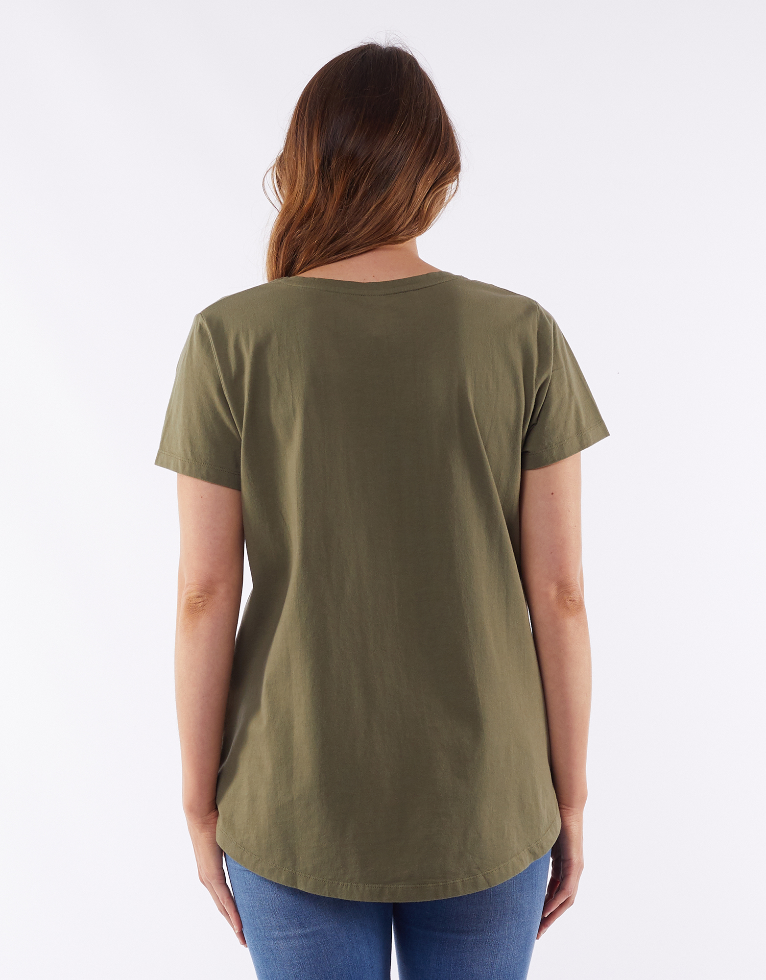 Elm All Star Tee Khaki