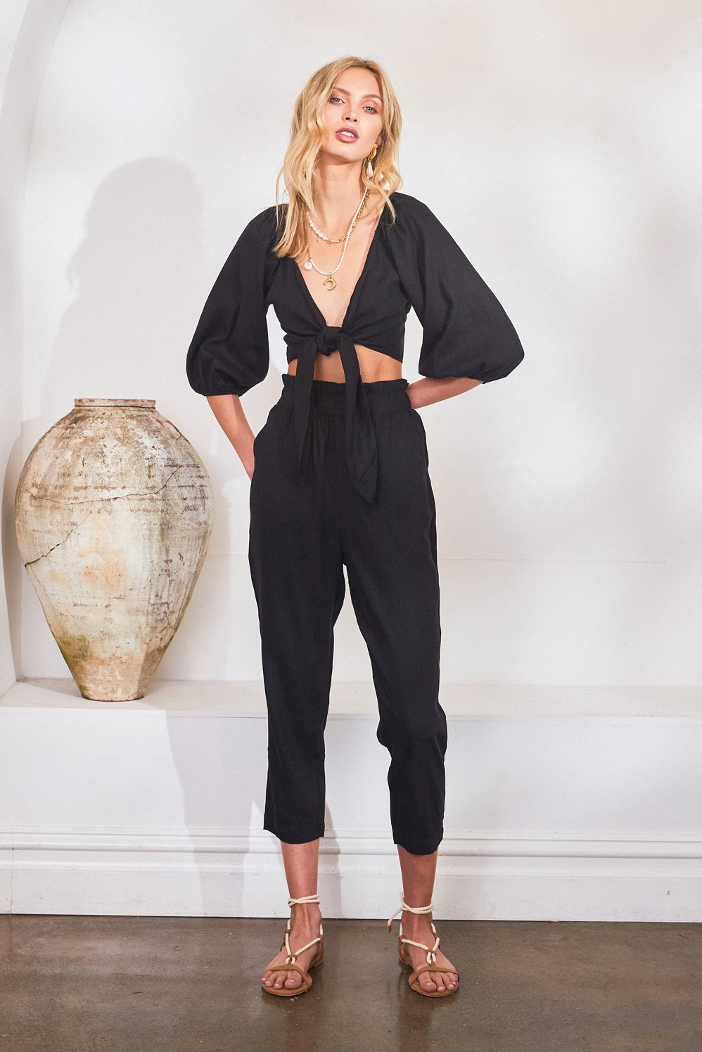 Lost In Lunar Venus Pants Black