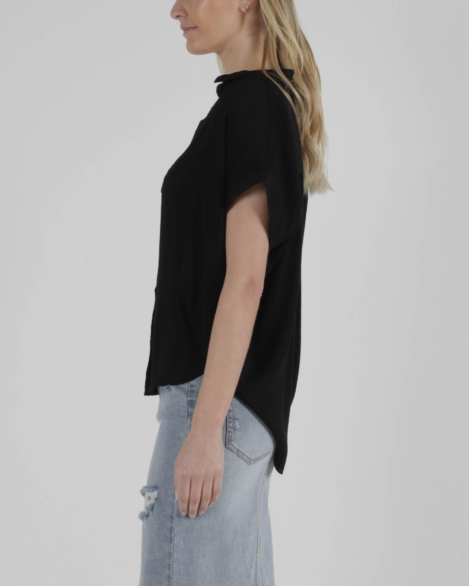 Sass Camille Shirt Black