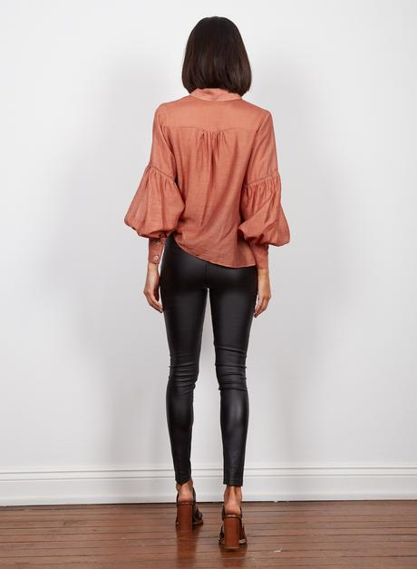 Wish Isabel Shirt Rust