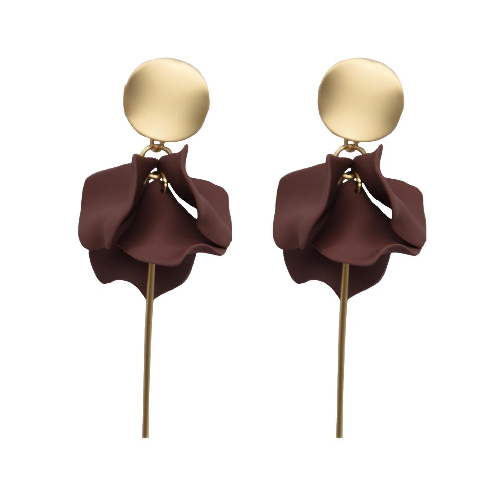 Sable & Dixie Esta Earrings Cocoa