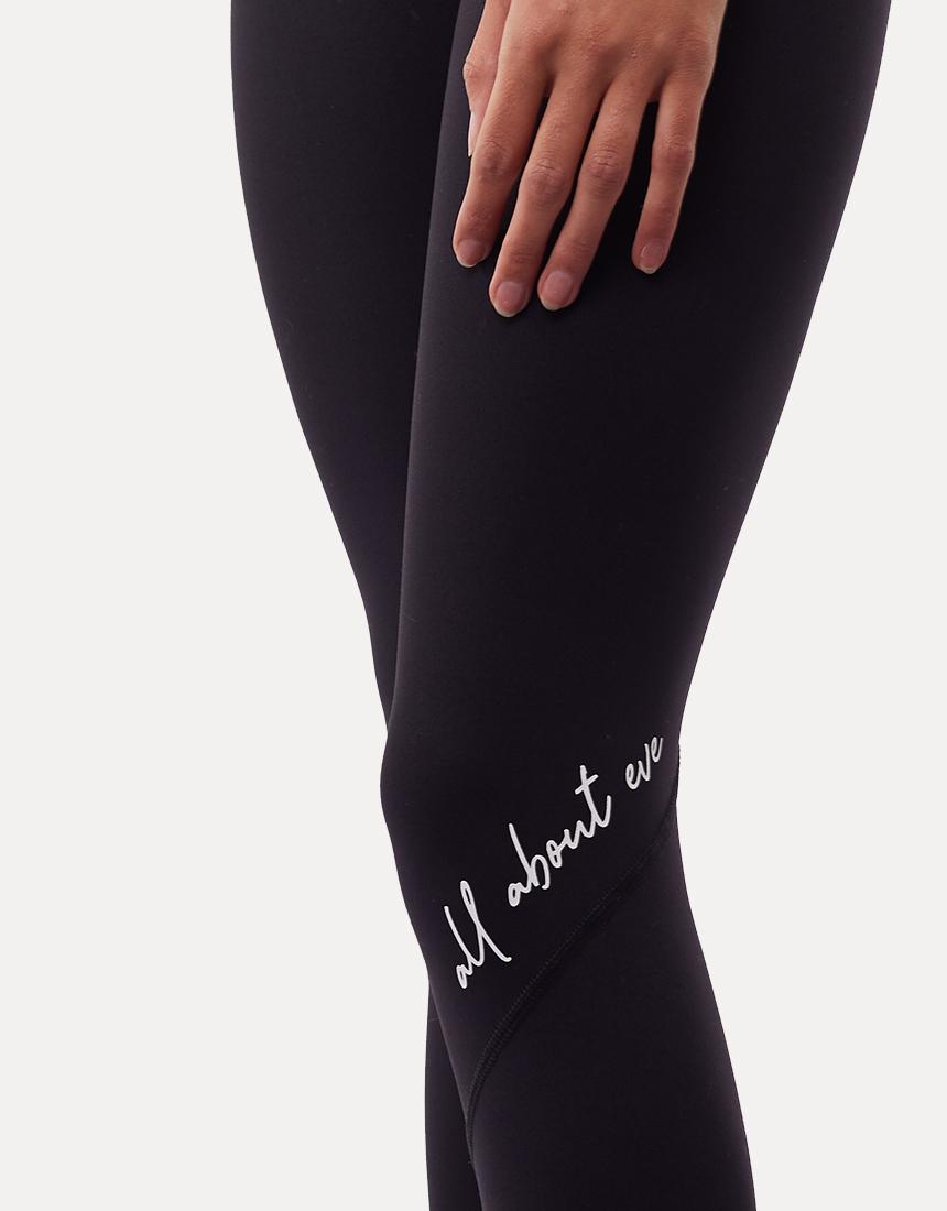 All About Eve Script Legging Black