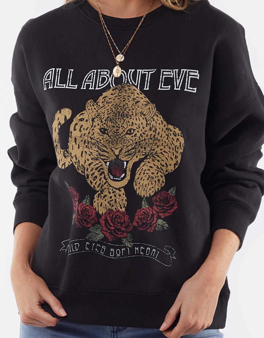 All About Eve Feline Oversized Crew