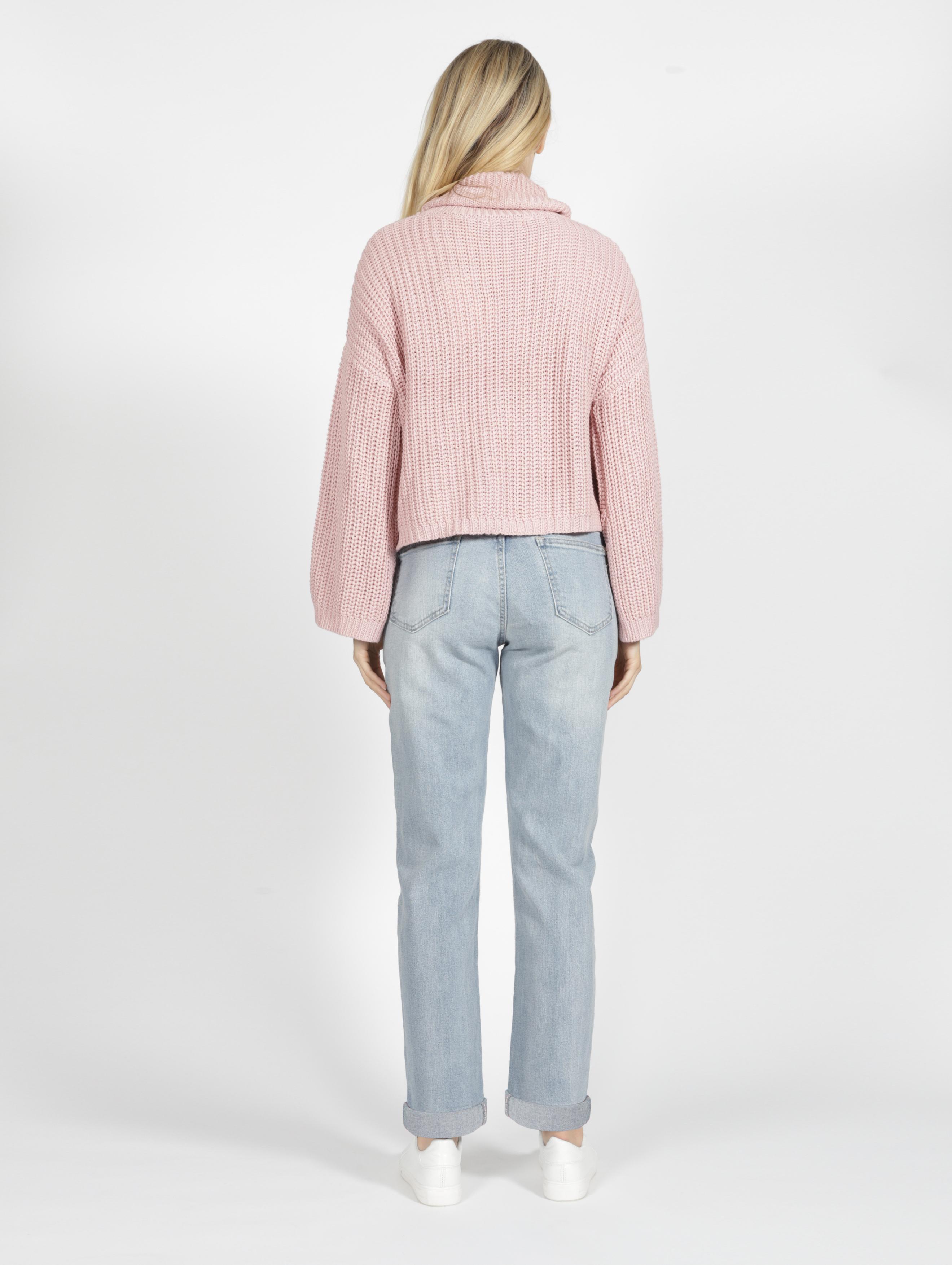 Sass Jules Knit Blush Pink