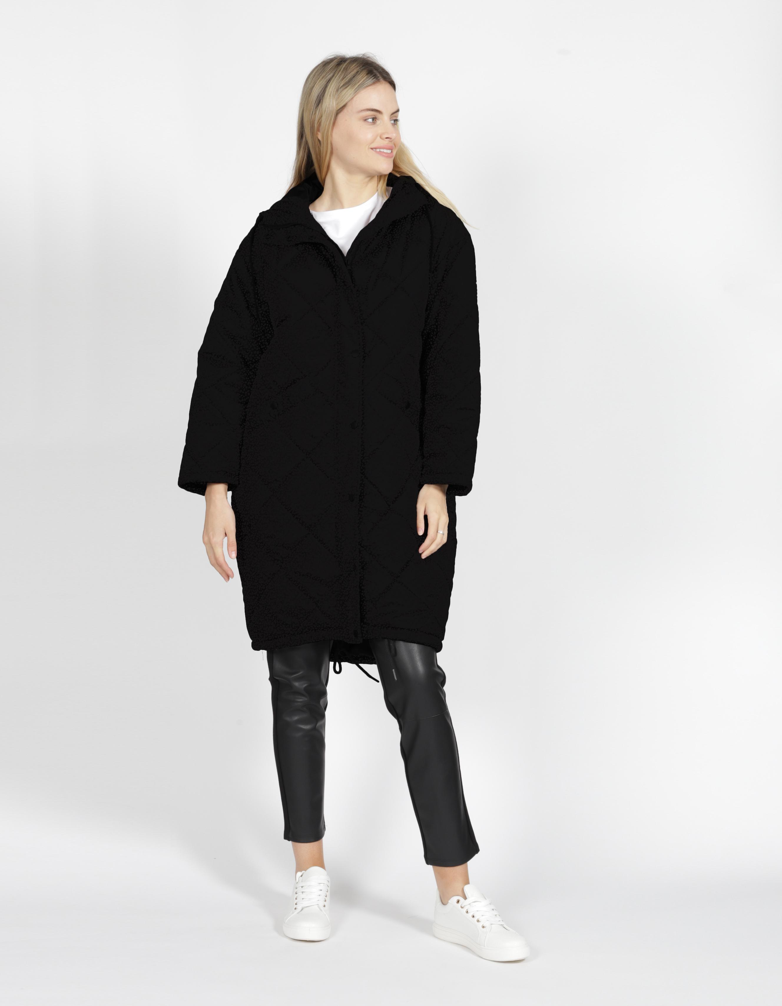 Sass Madison Puffer Jacket Black