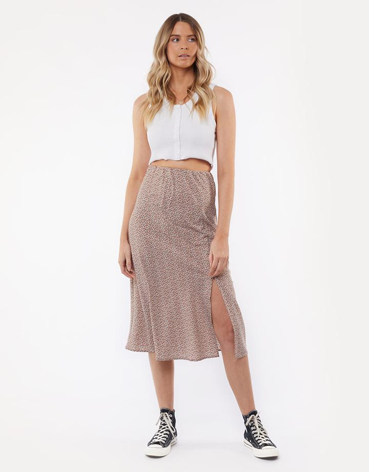 All About Eve Floret Midi Skirt