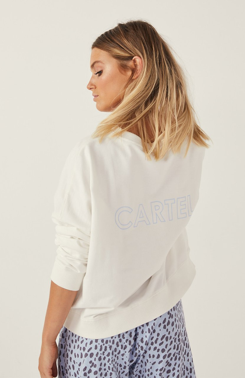 Cartel & Willow Izzy Sweater Winter White