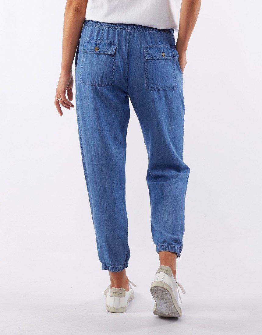 Elm Florence Chambray Pants