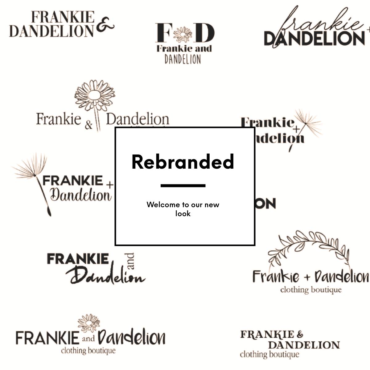 Frankie & Dandelion Rebranded