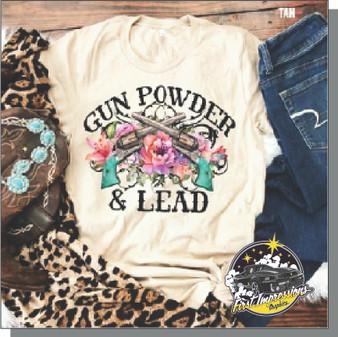 SCGC Gun Powder & Lead T-Shirts