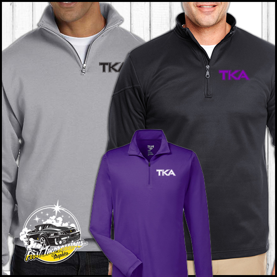 TKA Crewneck Quarter-zip