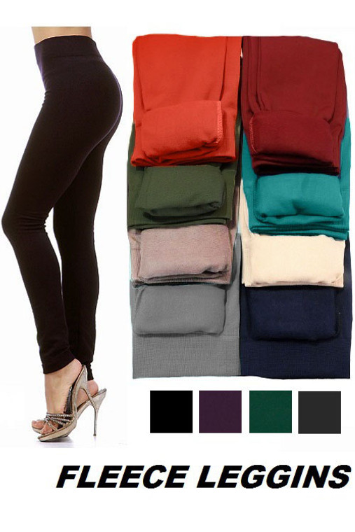 Fleece Lined Leggings side view