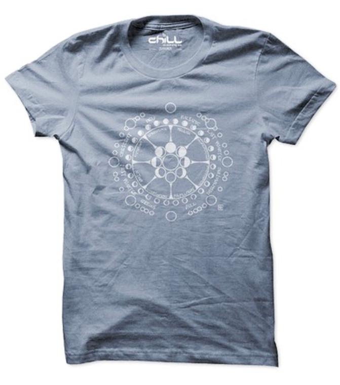 Moon Cycles t shirt