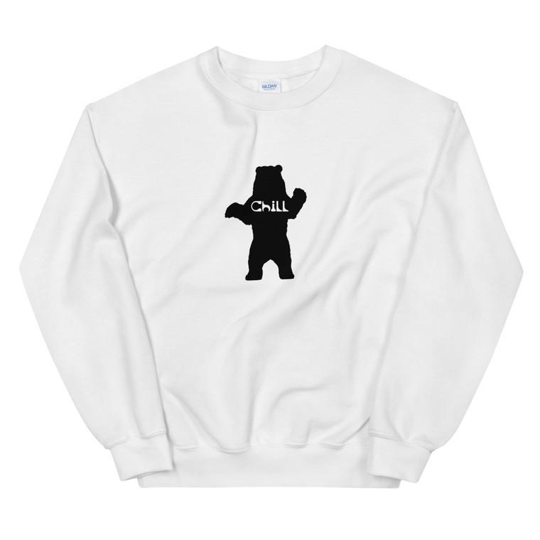 Chill Bear Crew Neck Sweatshirt