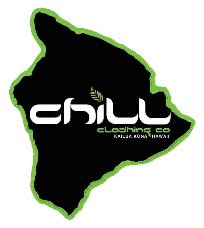 Chill Hawaii Sticker