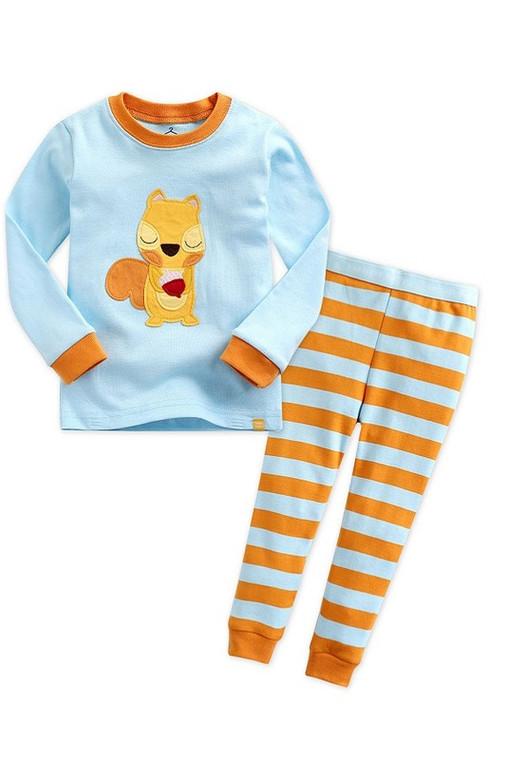 Squirrel Pajama Set