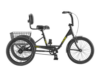 SUN BICYCLES TRIKE SUN ATLAS TRANSIT SD BK***W/BLACK BASKET***