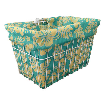 CRUISER CANDY BASKET LINER C-CANDY STD HIBISCUS MINT/YL