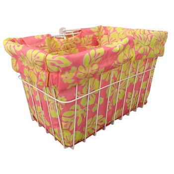 CRUISER CANDY BASKET LINER C-CANDY STD HIBISCUS PK/YL