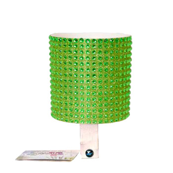 CRUISER CANDY DRINK HOLDER C-CANDY RHINESTONE GREEN